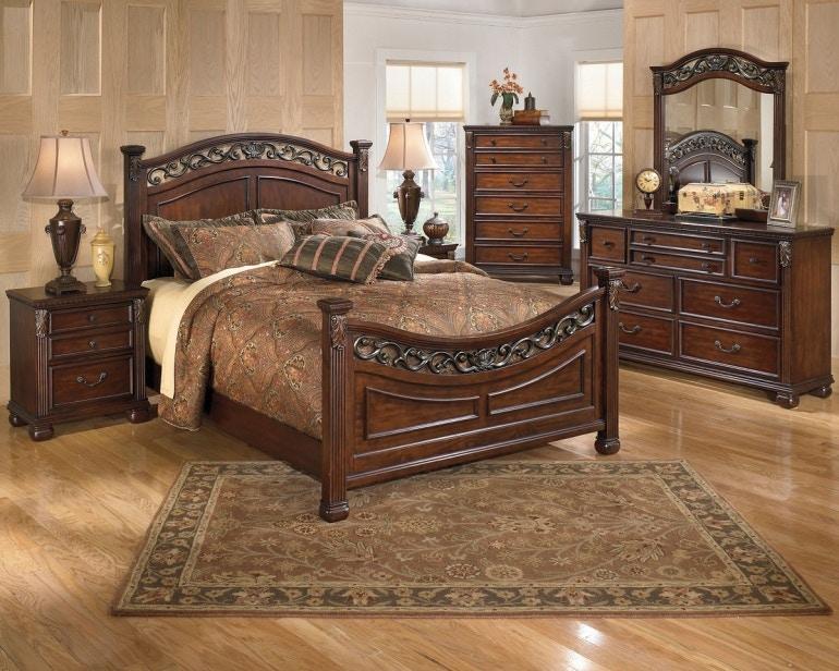 Ashley Leahlyn 6 Piece Queen Bed Set Portland Or Key