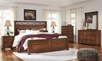 cal king bed sets Ashley Lazzene 8 Piece California King Bed Set   Portland, OR  cal king bed sets