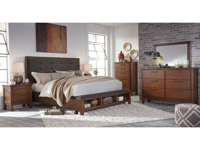 Ashley Ralene 7 Piece King Bed Set Portland Or Key