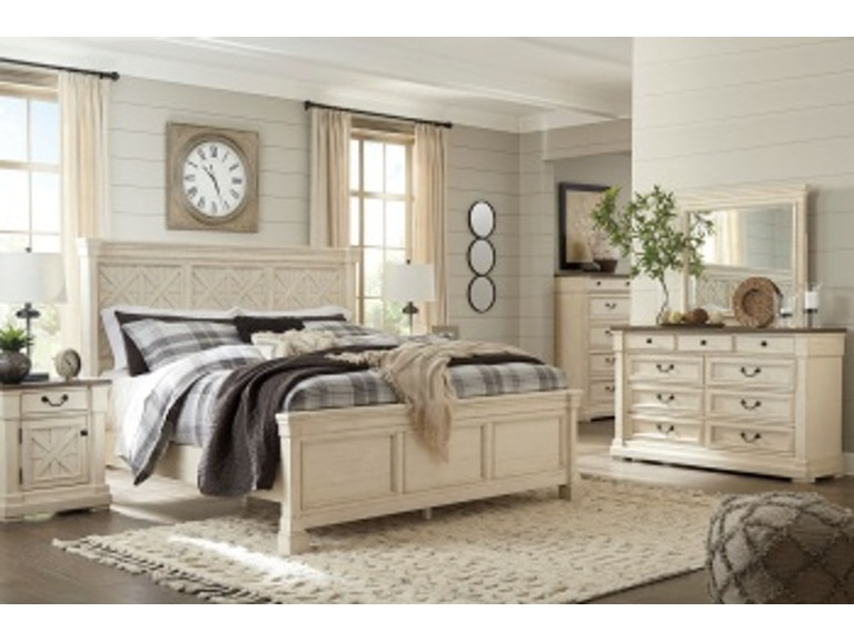 Ashley Bolanburg 8 Piece Queen Bed Set - Portland, OR | Key Home ...