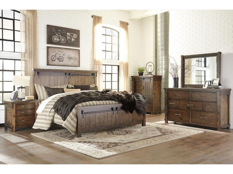 Ashley Lakeleigh 7 Piece King Bed Set Portland Or Key Home Furnishings