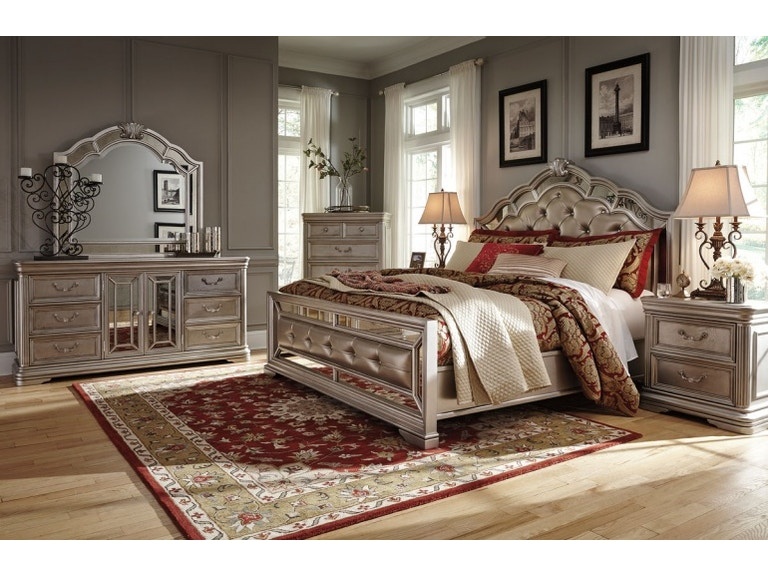 Ashley Birlanny 7 Piece King Bed Set - Portland, OR | Key Home ...