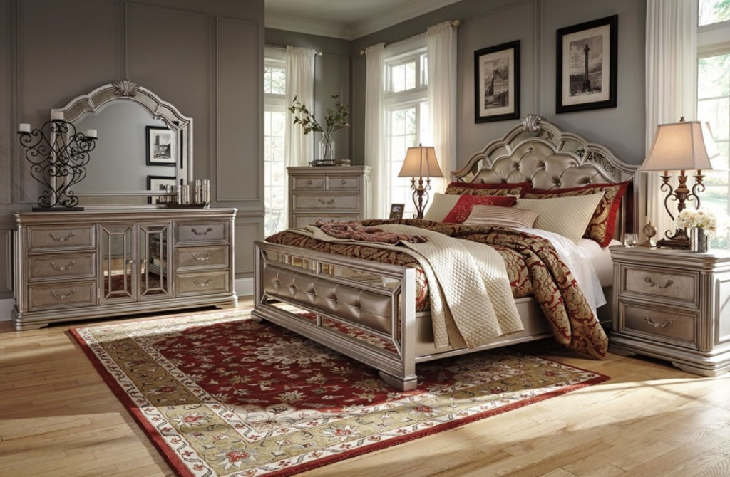 Birlanny 7 Piece King Bed Set