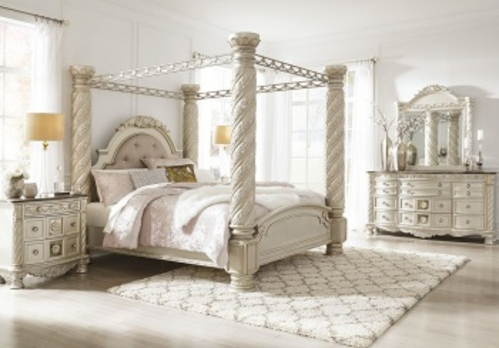 Ashley Cassimore 10 Piece King Bed Set Portland Or Key Home Furnishings
