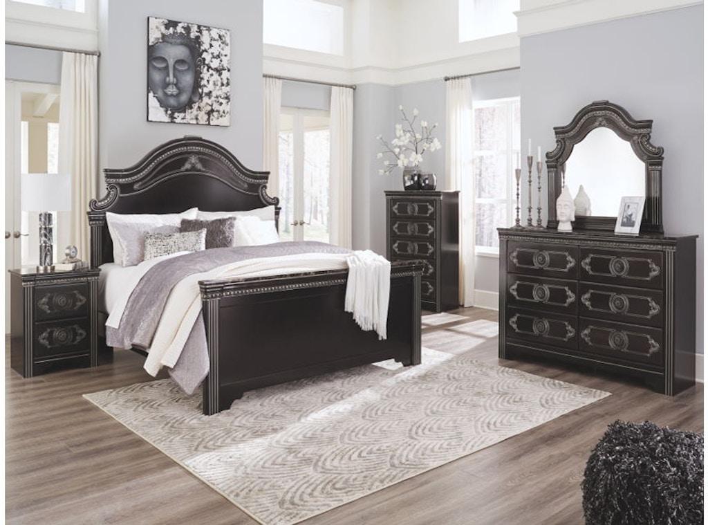 Ashley Banalski 5 Piece Queen Panel Bed Set B342 31 36 57 54 96 Portland Or Key Home