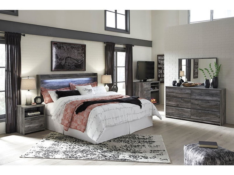 Ashley Baystorm 6 Piece Queen Bedroom Set B221-31-36-48-57-91-2 ...
