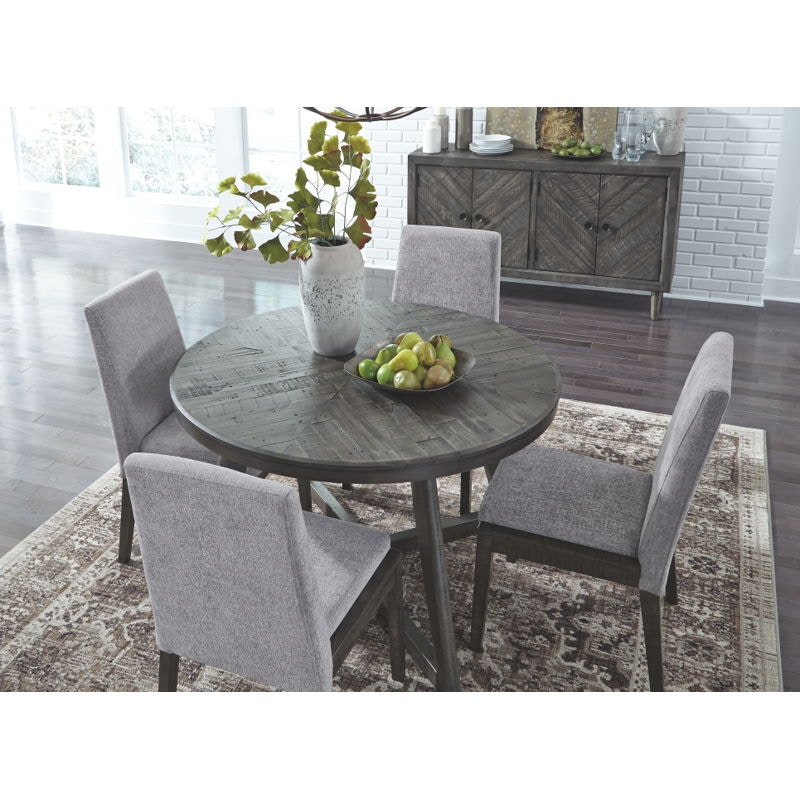 7 piece round dining set kitchenette piece round dining set ashley besteneer rectangular d56825016