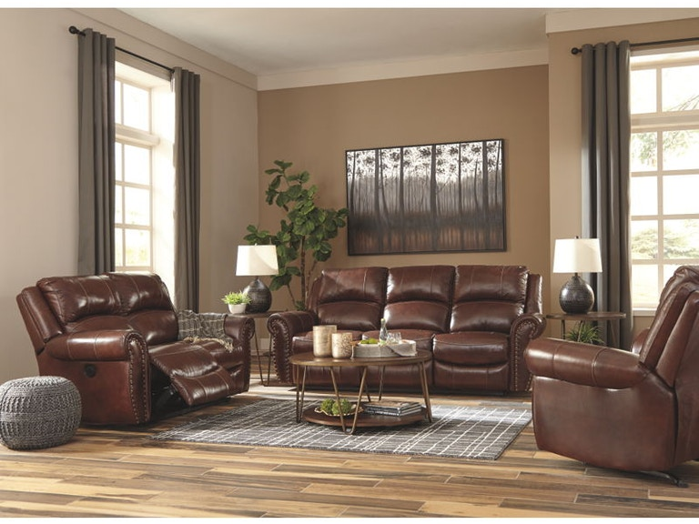 Ashley Bingen Power Reclining Living Room Set U42802 87 74