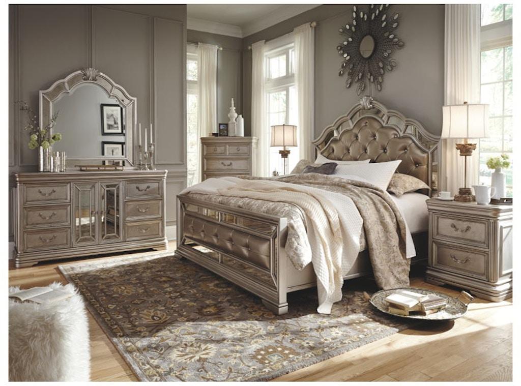 Ashley Birlanny 5 Piece California King Bed Set Portland Or Key Home Furnishings