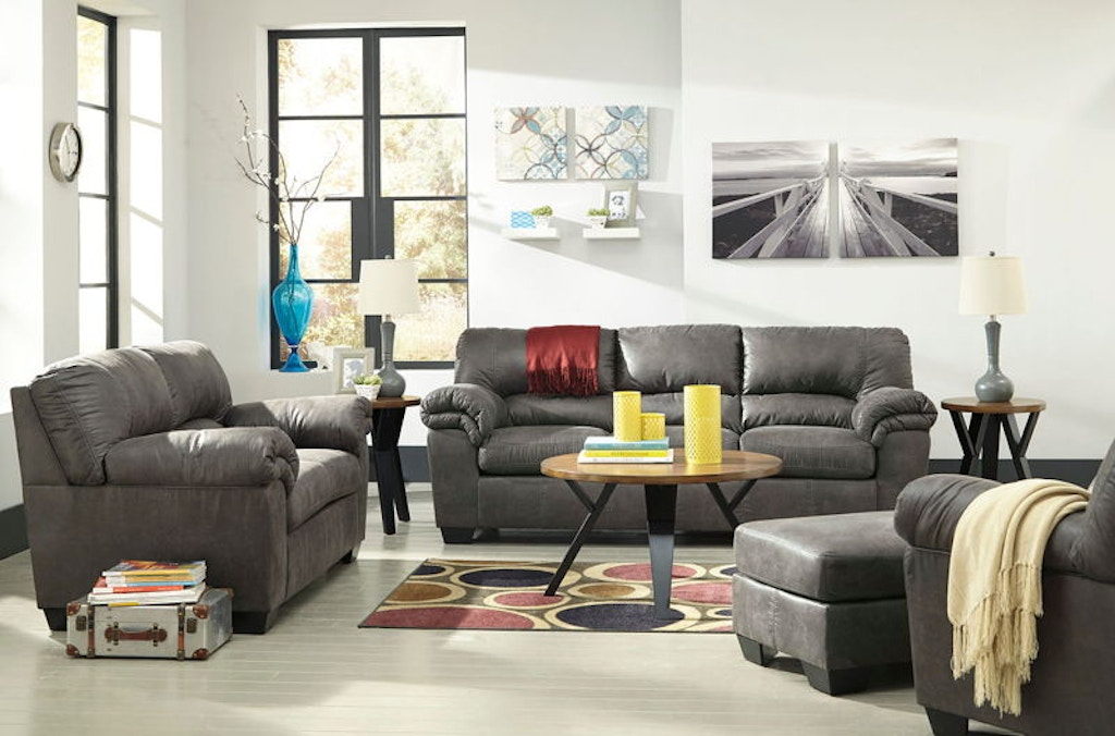 Ashley Bladen Sofa And Loveseat And Chair And Ottoman Set