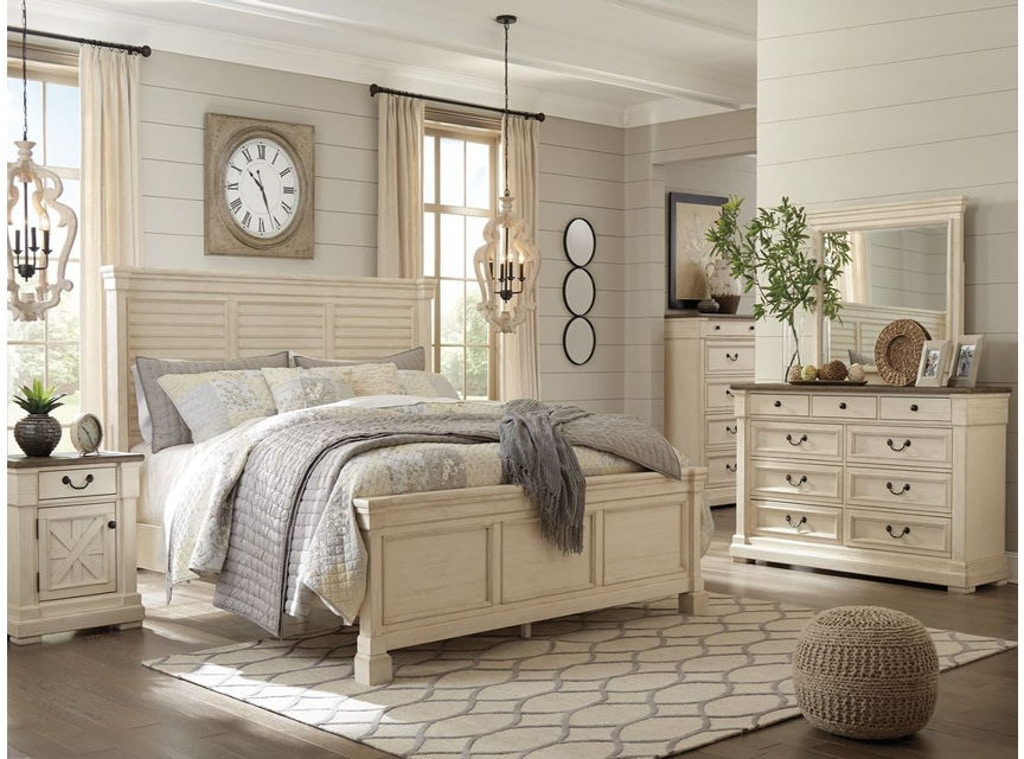 Ashley Bolanburg 5 Piece Queen Bed Set Portland Or Key Home