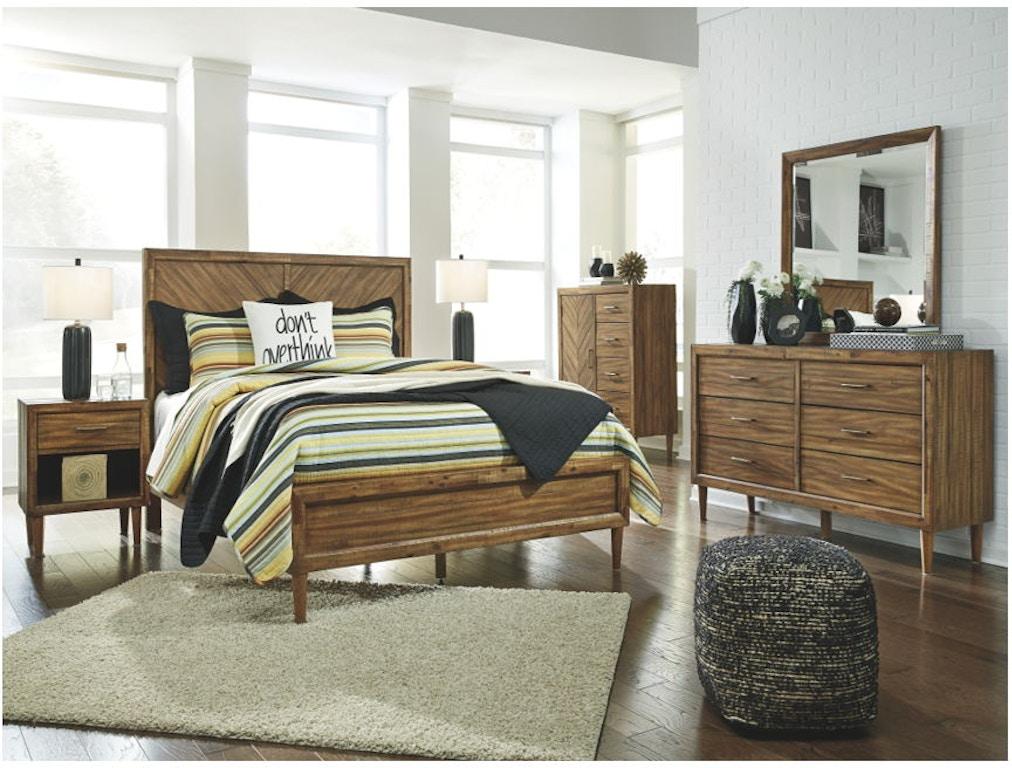 Ashley Broshtan 7 Piece California King Panel Bedroom Set B518 31