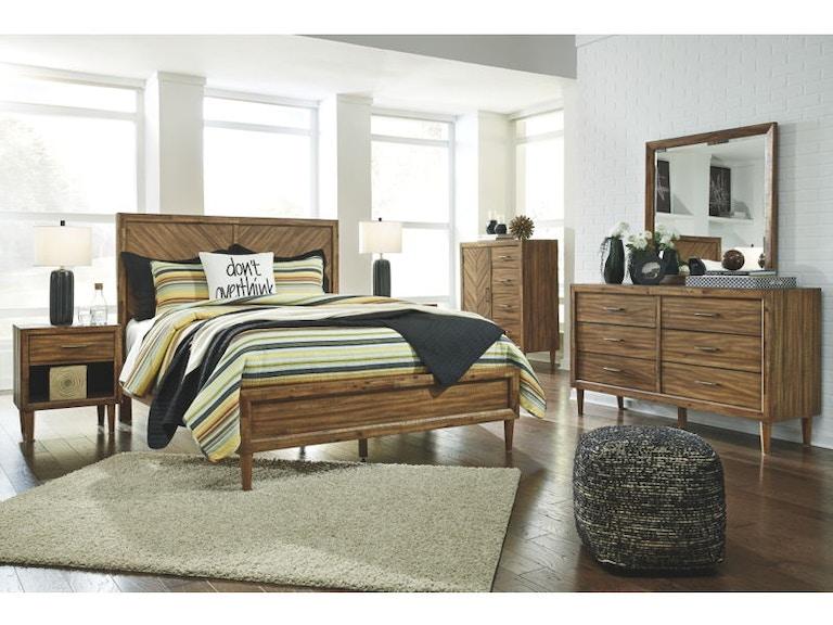 Ashley Broshtan 7 Piece California King Panel Bedroom Set B518-31-36 ...