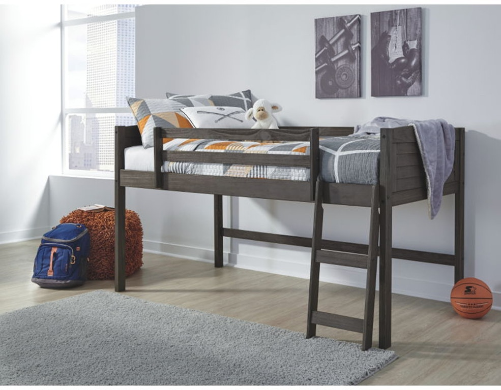 Ashley Caitbrook Twin Loft Bed With Storage B388 62 62b