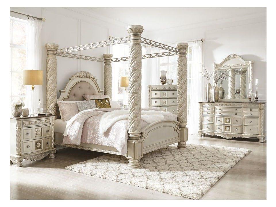 Ashley Cassimore 7 Piece California King Upholstered Bedroom Set B750 31 36 72 50 51 62 95