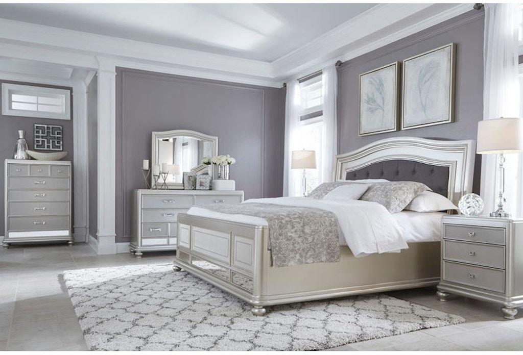 Ashley Coralayne 7 Piece Queen Bed Set Portland Or