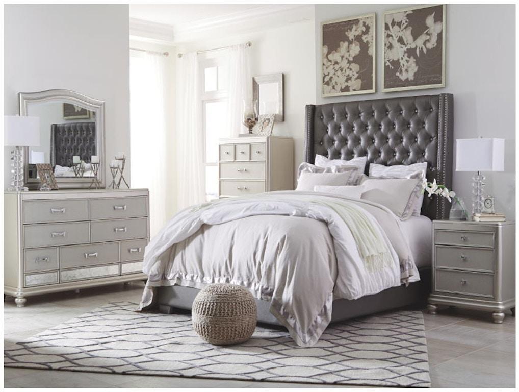 Ashley Cayne 5 Piece King Bed Set