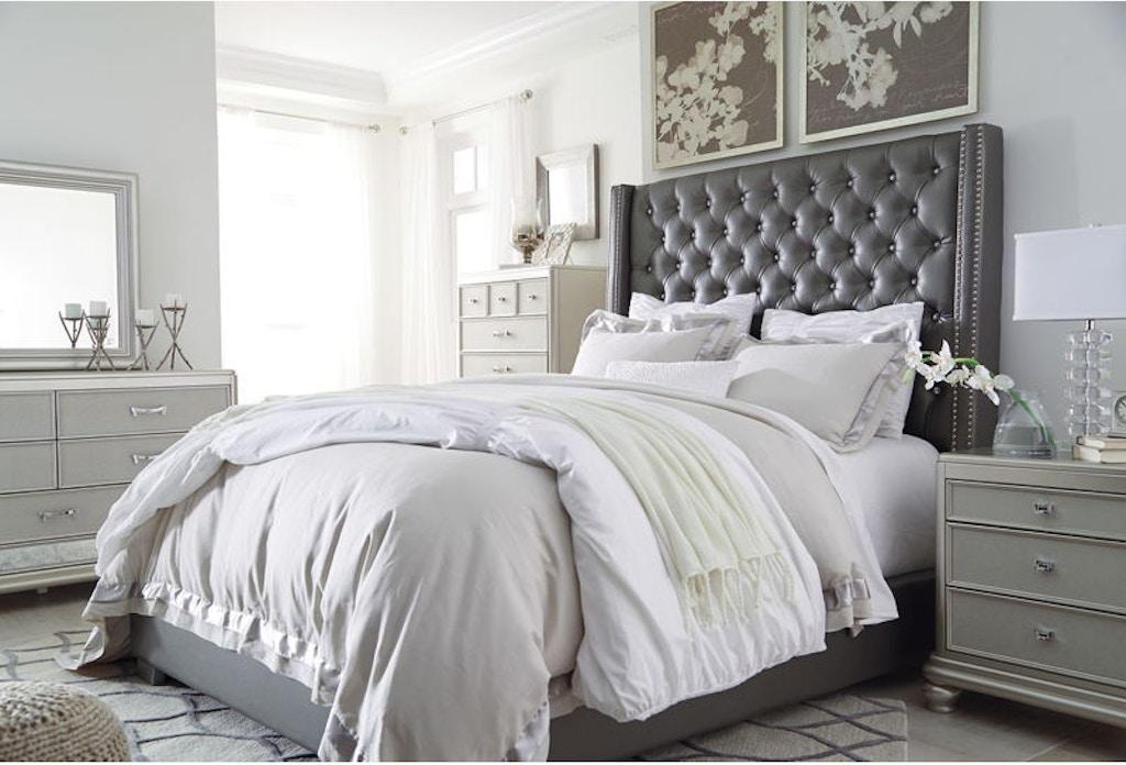 Ashley Coralayne 6 Piece Queen Bed Set Portland Or