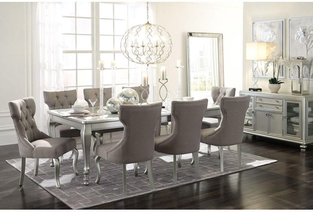 Ashley Coralayne 10 Piece Rectangular Dining Room Set D650