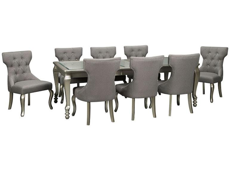 Ashley Coralayne 9 Piece Rectangular Dining Room Set D650