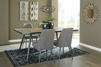 Ashley Coverty 5 Piece Rectangular Dining Set D605 25 01 4 In Portland