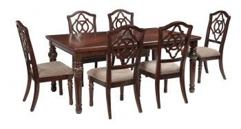 Ashley Leahlyn 7 Piece Rectangular Dining Set D626 35 01 6 In Portland