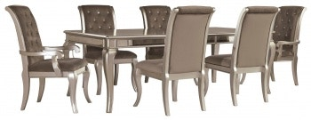Ashley Birlanny 7 Piece Rectangular Dining Set D720 35 01 4 01A