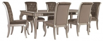 Ashley Birlanny 7 Piece Rectangular Dining Set D720 35 01 6 In Portland