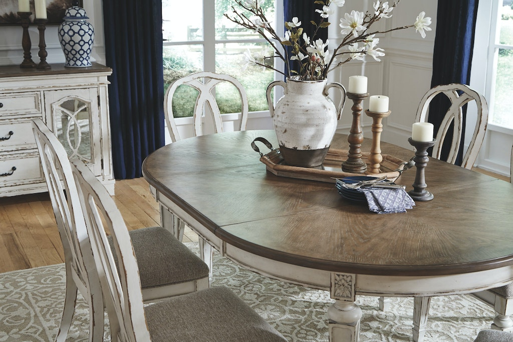 Ashley Oval Dining Room Extension Table D743 35 In Portland Oregon