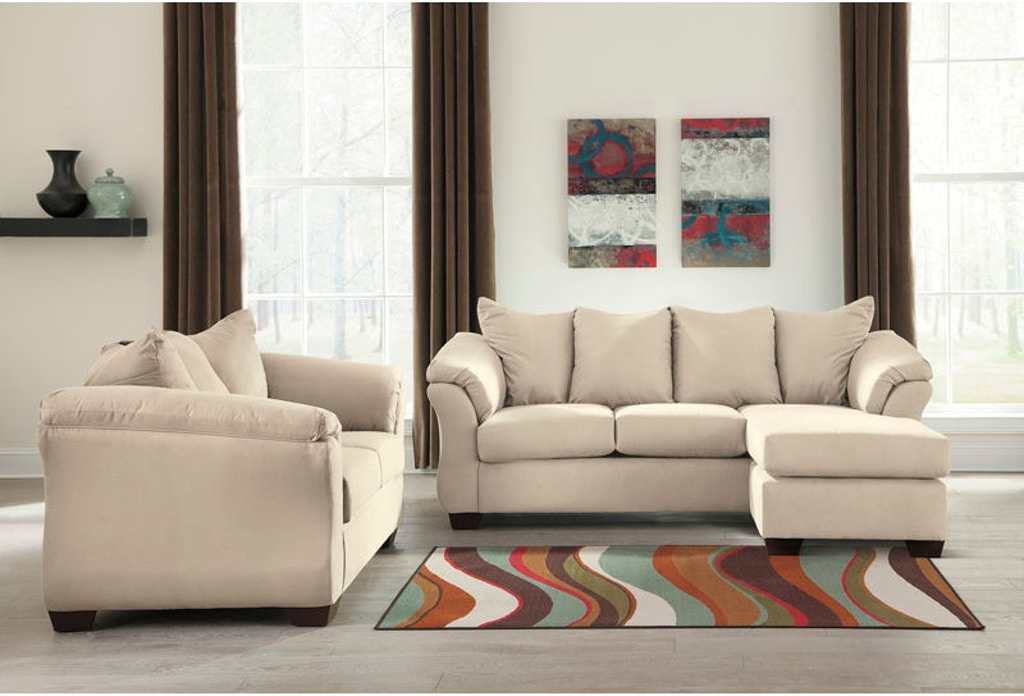 Ashley Darcy Sofa Chaise And Loveseat