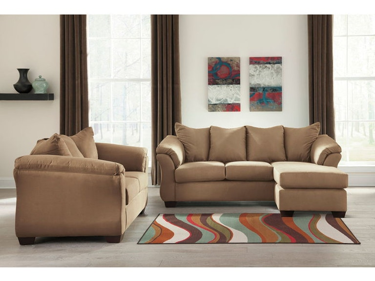 Ashley Darcy Sofa Chaise And Loveseat Set 75002 18 35