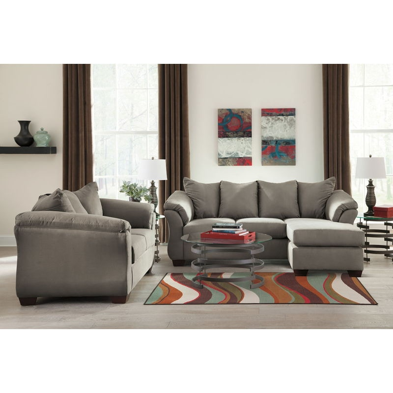 Ashley Sofa Chaise And Loveseat And Occasional Table Set 75005 18 35 T408