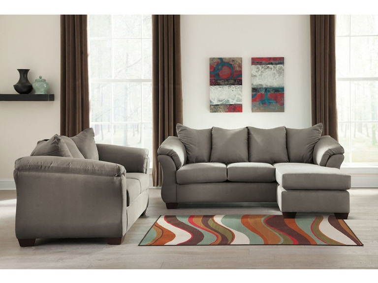Ashley Darcy Sofa Chaise And Loveseat Set 75005 18 35