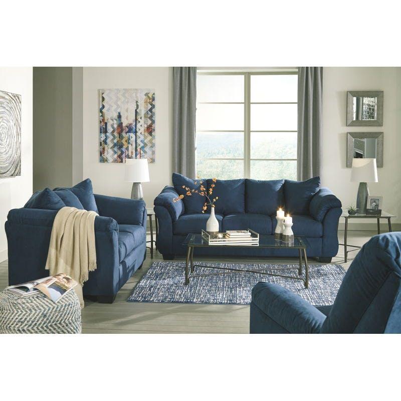 Image of: Ashley Darcy Living Room Set 75007 38 35 25 Portland Or Key Home Furnishings
