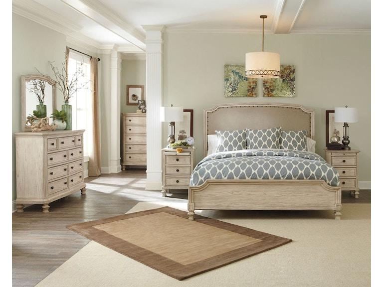Ashley Demarlos 7 Piece Queen Upholstered Bedroom Set B693-31-36-77 ...