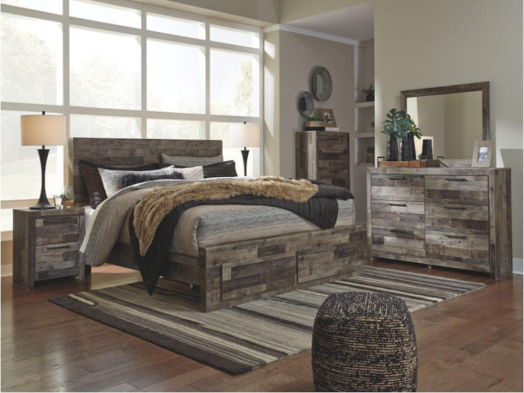 Ashley Derekson 7 Piece King Storage Bedroom Set B200 31 36 46 58