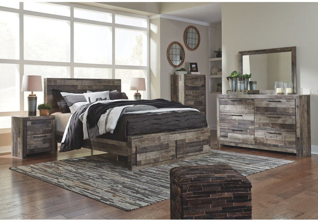 8 Piece Queen Storage Bedroom Set