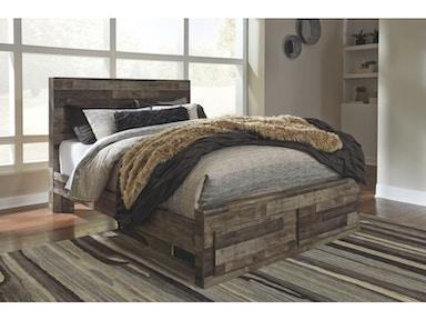 Ashley Derekson Queen Storage Footboard Bed B200 57 54s 95