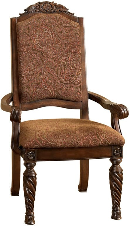 Ashley Dining UPH Arm Chair (QTY 2) D553 02A In Portland, Oregon