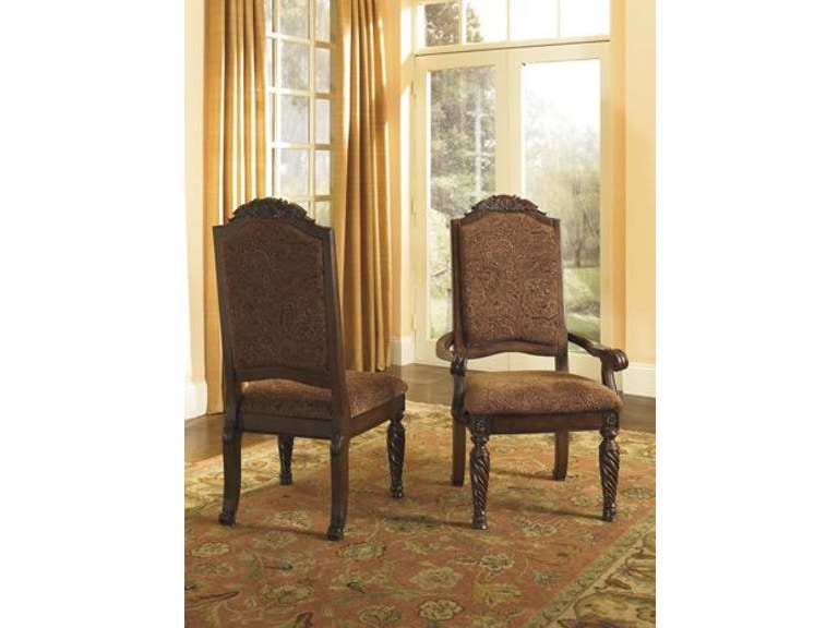 Ashley North Shore Dining Uph Side Chair Qty 2 D553 02 Portland