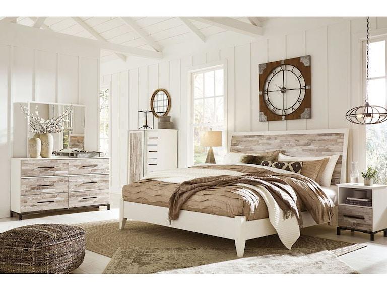 Ashley Evanni 7 Piece Queen Bed Set Portland Or Key