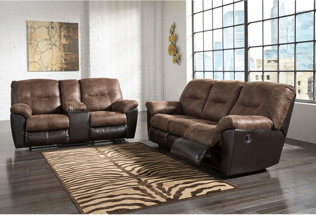 Ashley Follett Reclining Sofa And