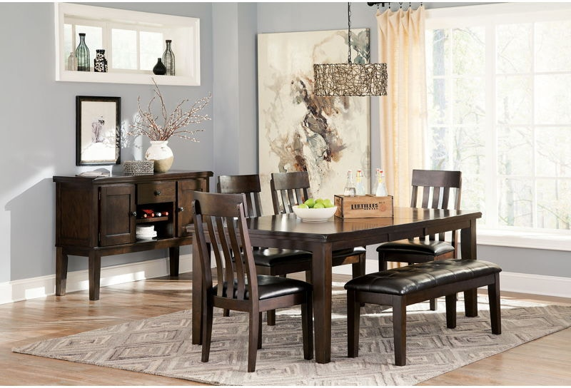 Complete Dining Room Set With Server