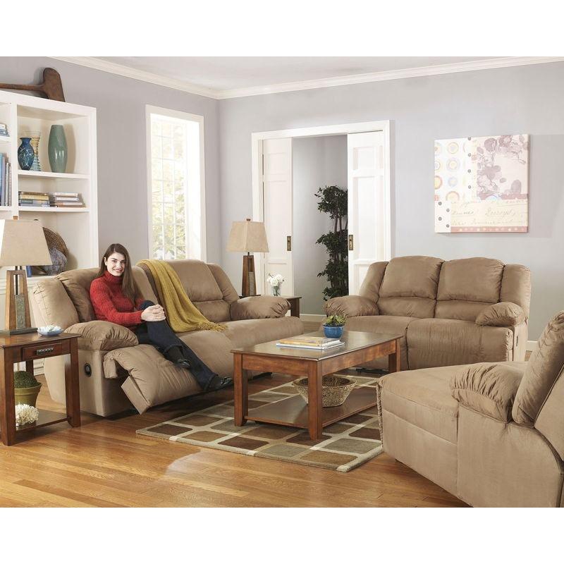 Ashley Hogan 3 Piece 2 Seat Reclining Sofa And Reclining Loveseat