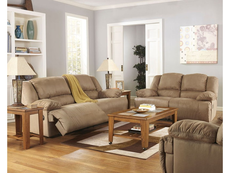 Ashley 3 Piece 2 Seat Reclining Sofa And Loveseat Zero Wall Wide Recliner