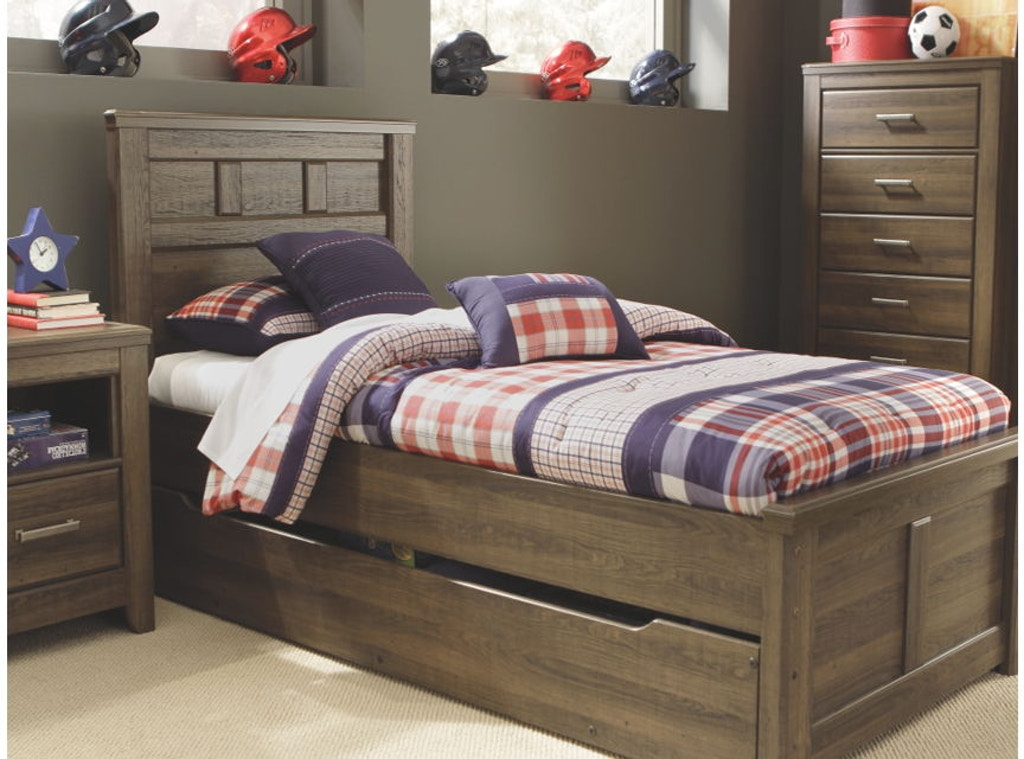 Ashley Twin Panel Bed With Trundle Under Bed Storage Portland