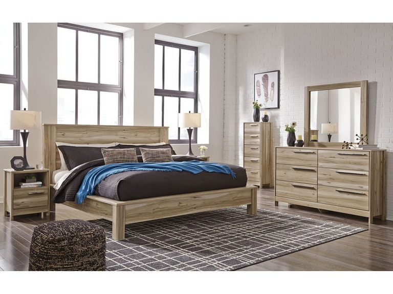 ashley 9 piece king platform bedroom set b230 31 36 11 57 - Platform Bedroom Sets