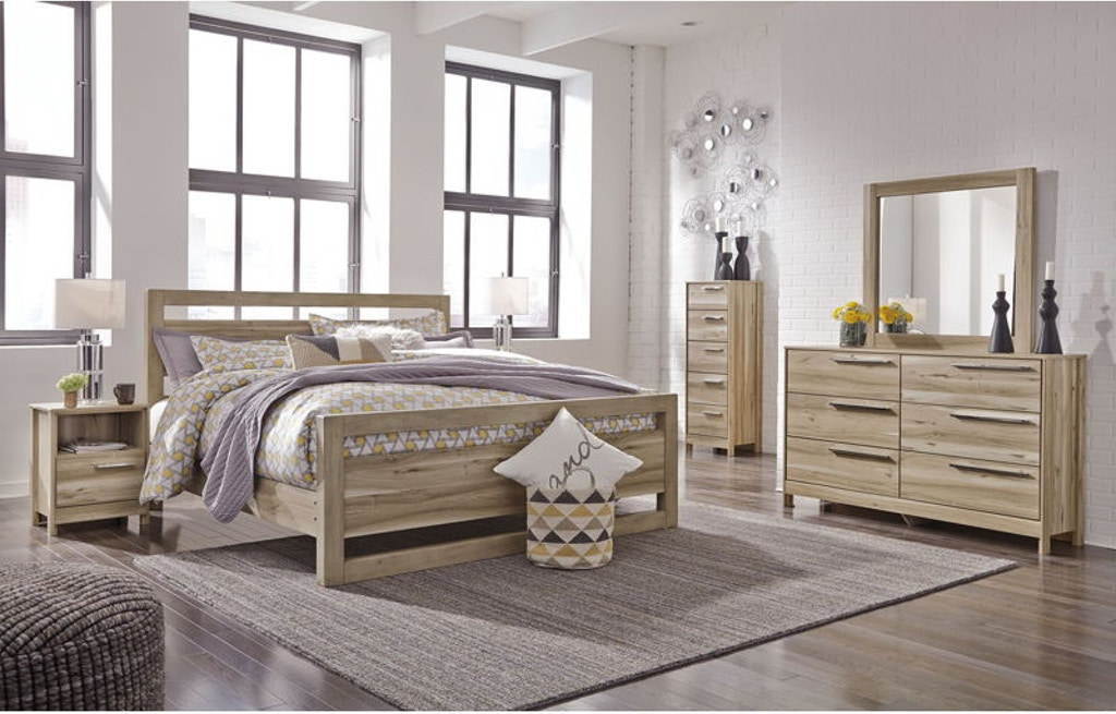Ashley Kianni 8 Piece King Panel Bed Set - Portland, OR ...