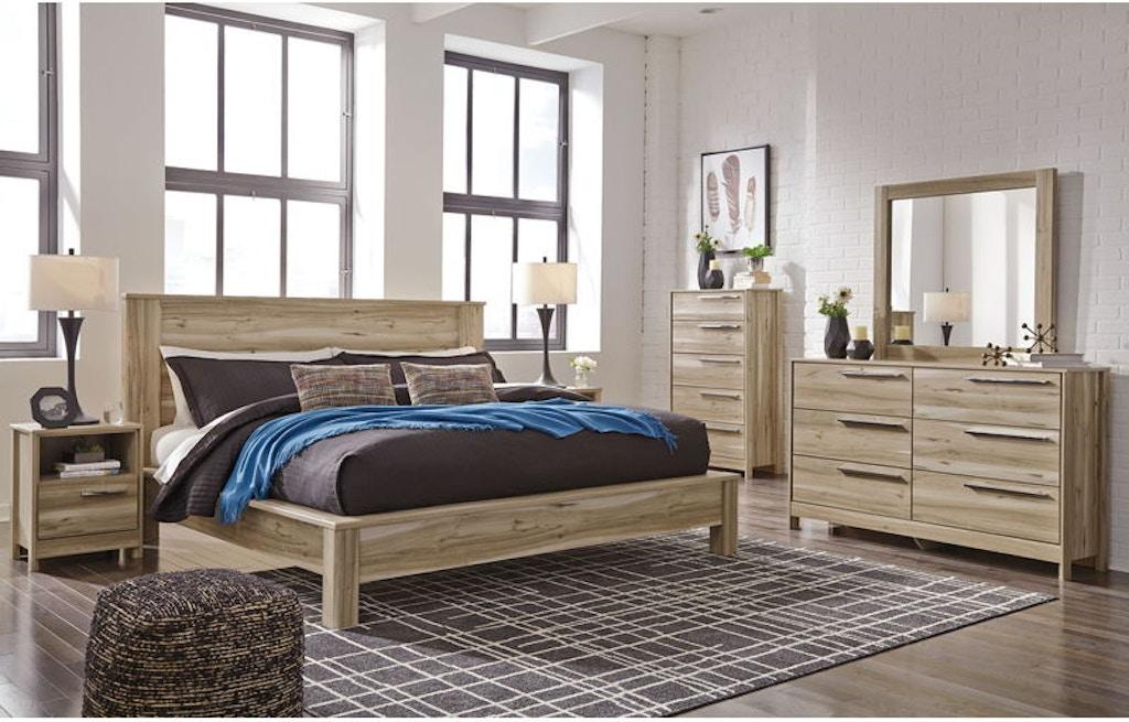 Ashley Kianni 6 Piece King Platform Bed Set Portland Or Key Home Furnishings