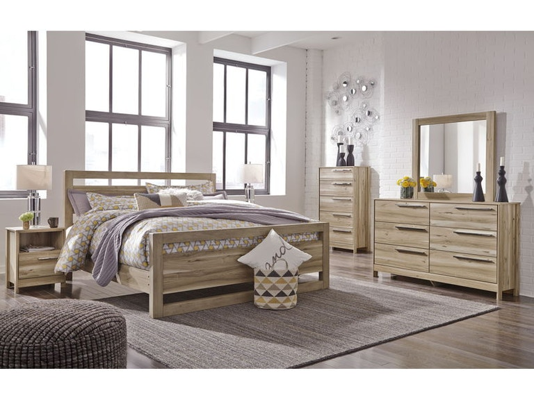 Ashley Kianni 7 Piece Queen Panel Bed Set - Portland, OR ...